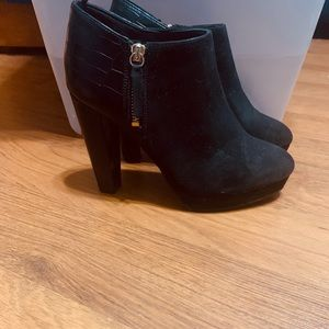 H&M Black Booties